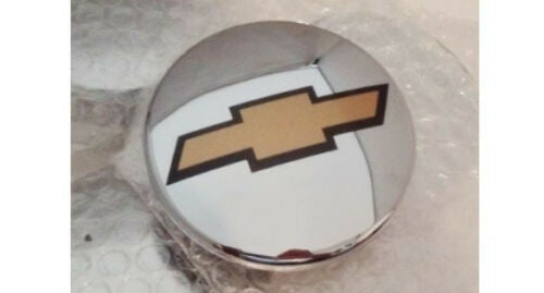 "CHEVROLET 3"" GOLD BOWTIE CENTER CAP FOR 20"" AND 22"" SET OF 4"