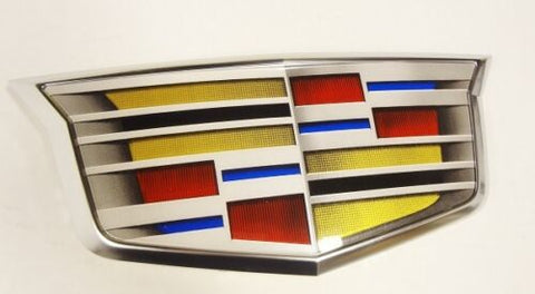 CT6 Adaptive Cruise Control Grille Crest Satin Chrome 2016-2018