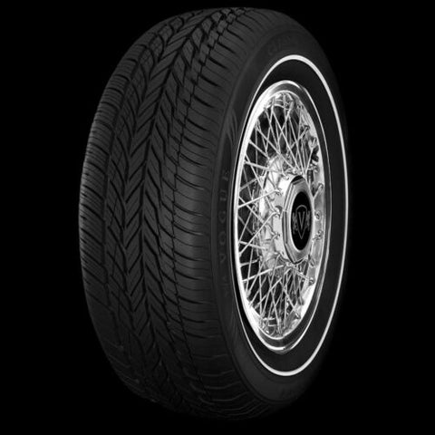 VOGUE TYRE 225-60R16 CLASSIC PENCIL WHITEWALL TIRES SET OF 4