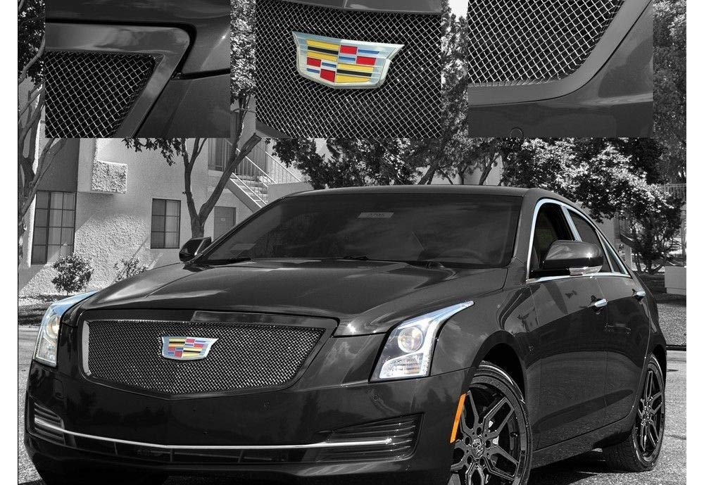 E&G CADILLAC ATS CLASSIC BLACK ICE FINE MESH GRILLE - UPPER ONLY 1008-B10U-15