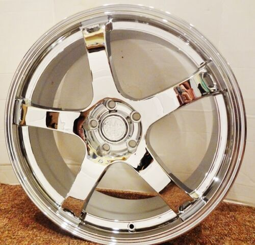 "CLASSIC CHROME 20"" X 8.5"" SET OF 4 WHEELS"