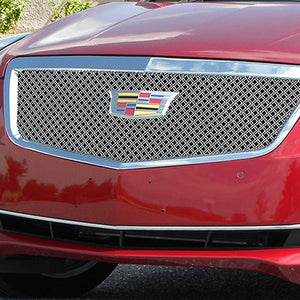 E&G CADILLAC ATS CLASSIC DUAL WEAVE GRILLE - UPPER ONLY 1008-010U-15DAC