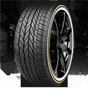 VOGUE TYRE 245-45R19 WHITE AND GOLD SET OF 4 TIRES