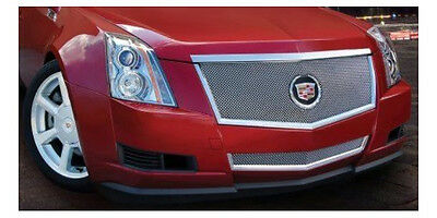 E&G CADILLAC CTS 2PC CLASSIC FINE MESH GRILLE 1007-0102-08