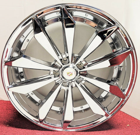 "SWORD CHROME 20"" X 8.5"" SET OF 4 WHEELS"