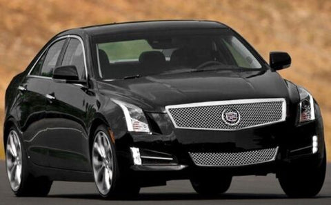 E&G CADILLAC ATS 2PC CLASSIC DUAL-WEAVE MESH GRILLE 1008-0104-13DR