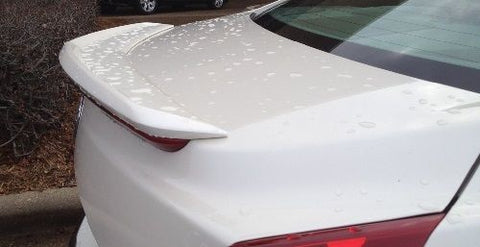 ATS SEDAN FACTORY STYLE REAR SPOILER WHITE DIAMOND 2013-2020