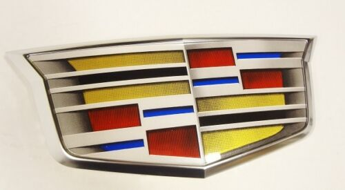 CTS Adaptive Cruise Control Grille Crest Satin Chrome 2016-2019