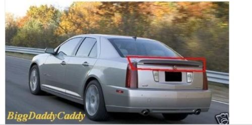 STS V FACTORY GM REAR SPOILER UNPAINTED 2005-2011