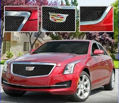E&G CADILLAC ATS CLASSIC BLACK ICE HEAVY MESH GRILLE - UPPER ONLY 1008-B10U-15H