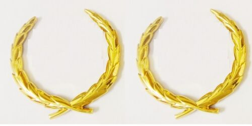 CADILLAC 24K GOLD OLD STYLE WREATH PAIR