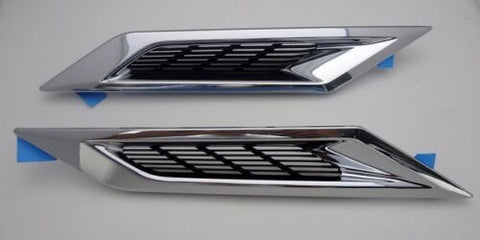 CTS Coupe Fender Vents Factory GM Chrome Left and Right 2010-2014