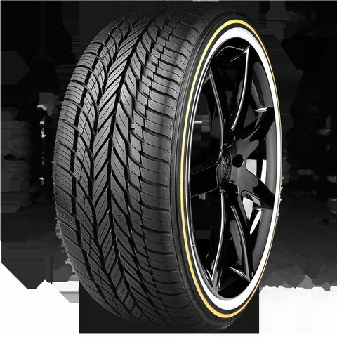 VOGUE TYRE 245-40R20 WHITE AND GOLD SET OF 4 TIRES