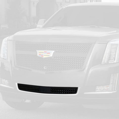 E&G 2015i-2018 CADILLAC ESCALADE CENTER BAR LUXE WEAVE LOWER - BLACK - ADAPTIVE CRUISE - 1009-060L-15ACB