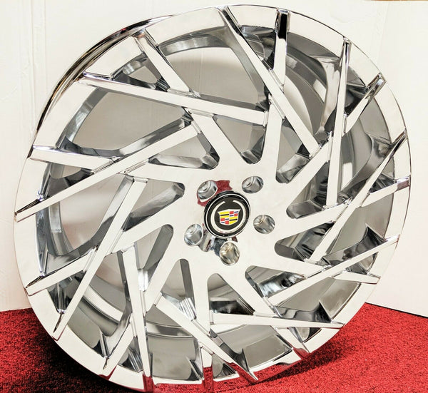 "WEB CHROME 20"" X 8.5"" SET OF 4 WHEELS"
