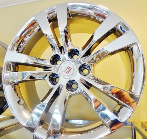 "CTS V SPORT CHROME 18"" X 8.5"" AND 18"" X 9.5"" OE SPEC SET OF 4 WHEELS"