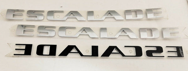 ESCALADE CHROME EMBLEM SET OF 3 2002-2014