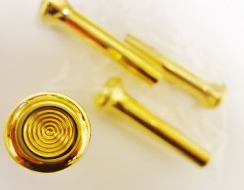 CADILLAC 24K GOLD OLD STYLE DOOR LOCK PULLS 4 PIECE SET