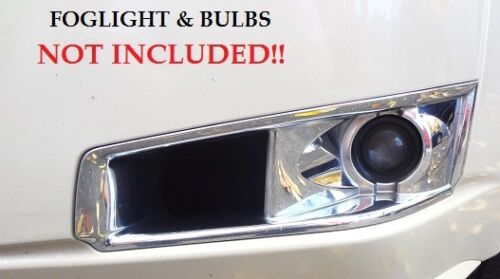 CTS Wagon Foglight Bezels Factory GM Chrome Left and Right 2010-2014