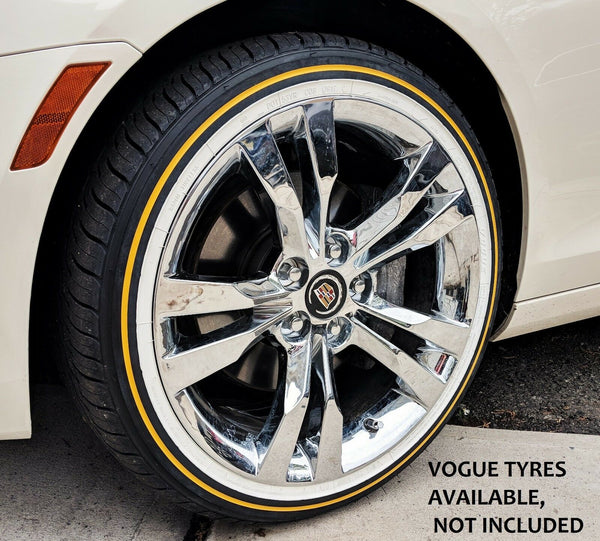 "CTS CHROME 18"" X 8.5"" OE SPEC SET OF 4 WHEELS 2014-2019"