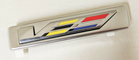 XLR V SERIES CHROME EMBLEM 2004-2009