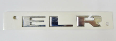 ELR CHROME EMBLEM