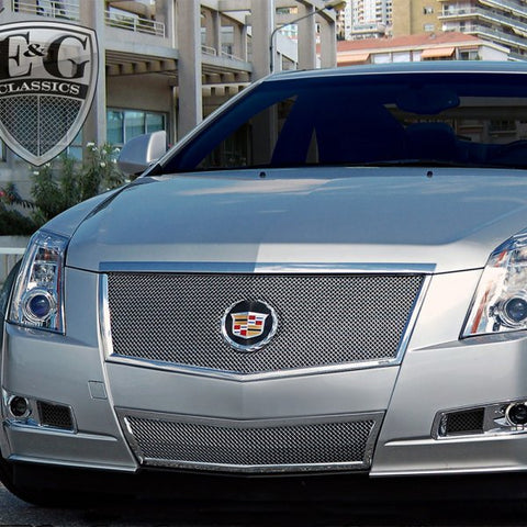 E&G CADILLAC CTS 1007-B10W-11 Deep Insert Black Ice Mesh Brake Duct Cover Set - 1007-B10W-11
