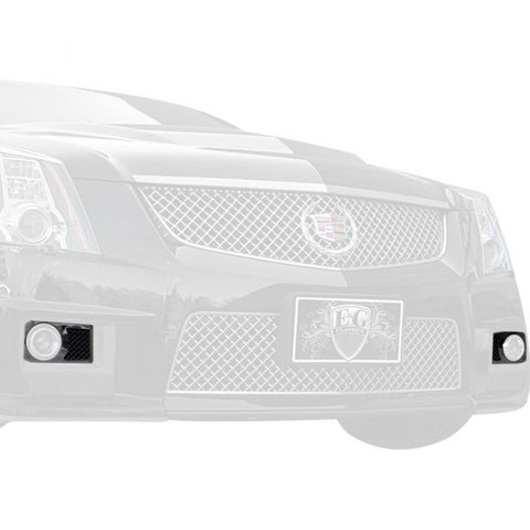 E&G CADILLAC CTS FRONT BRAKE DUST COVERS - BLACK ICE - 1416-B10W-11