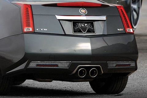 E&G CADILLAC CTS REAR BUMPER ACCENT KITS FOR CTS-V ONLY 1416-0120-11