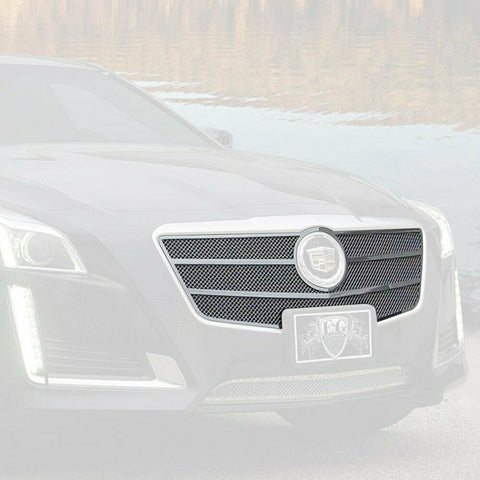 E&G CADILLAC CTS CLASSIC FINE MESH GRILLE - UPPER ONLY 1007-010U-14O