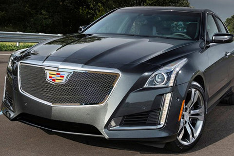 E&G CADILLAC CTS CLASSIC FINE MESH GRILLE - UPPER ONLY 1007-010U-15O