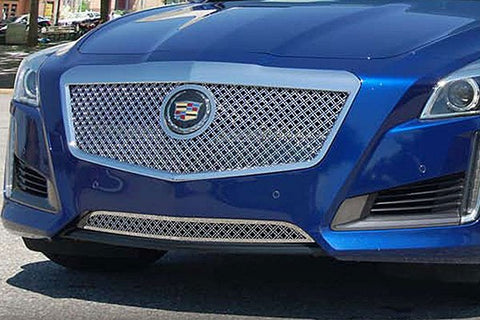 E&G 2014 CADILLAC CTS CLASSIC DUAL WEAVE MESH GRILLE - UPPER ONLY 1007-010U-14D