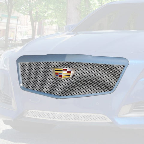 E&G 2015-2018 CADILLAC CTS CLASSIC DUAL WEAVE MESH GRILLE- UPPER ONLY 1007-010U-15DACC