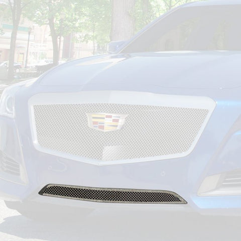 E&G 2014-2018 CADILLAC CTS FINE MESH GRILLE - LOWER ONLY 1007-010L-14