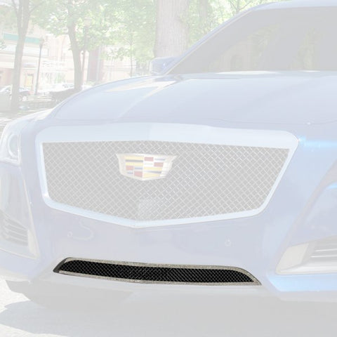 E&G 2014-2018 CADILLAC CTS BLACK ICE FINE MESH GRILLE - LOWER ONLY 1007-B10L-14