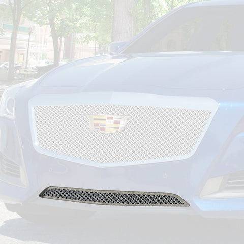 E&G 2014-2018 CADILLAC CTS DUAL WEAVE STYLE GRILLE  - LOWER ONLY 1007-010L-14D