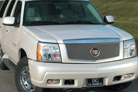 E&G 2002-2006 CADILLAC ESCALADE CLASSIC HEAVY METAL MESH GRILLE UPPER ONLY 1009-0104-02