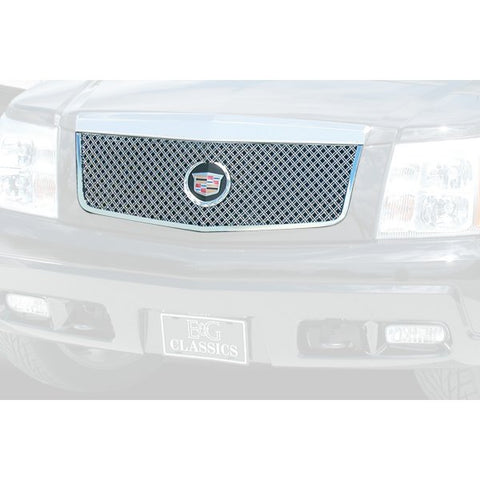 E&G 2002-2006 CADILLAC ESCALADE CLASSIC MESH GRILLE UPPER ONLY 1009-0104-02D