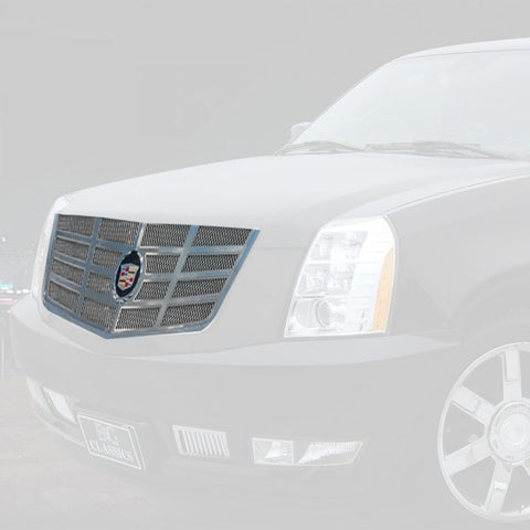 E&G 2007-2014 CADILLAC ESCALADE CLASSIC SIXTEEN GRILLE UPPER ONLY 1009-0016-07