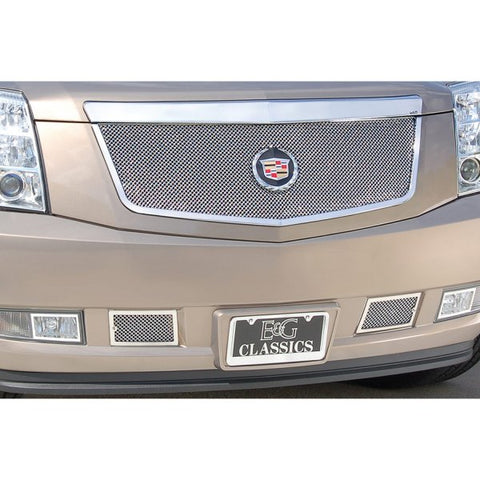 E&G 2007-2014 CADILLAC ESCALADE CLASSIC FINE MESH GRILLE UPPER ONLY 1009-0102-07