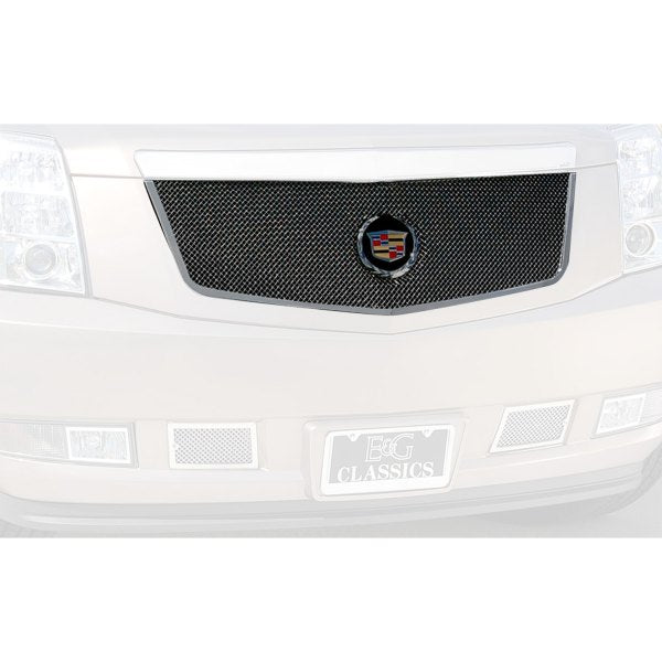E&G 2007-2014 CADILLAC ESCALADE CLASSIC FINE MESH GRILLE BLACK ICE UPPER ONLY - 1009-B102-07