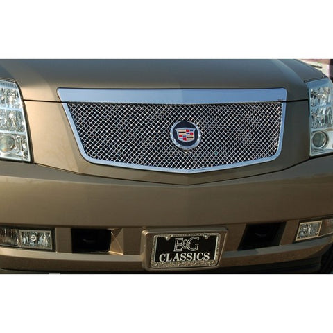E&G 2007-2014 CADILLAC ESCALADE CLASSIC HEAVY METAL MESH GRILLE UPPER ONLY - 1009-0104-07