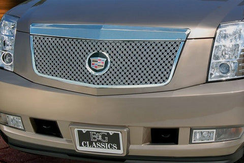 E&G 2007-2014 CADILLAC ESCALADE CLASSIC MESH GRILLE UPPER ONLY 1009-0104-07D