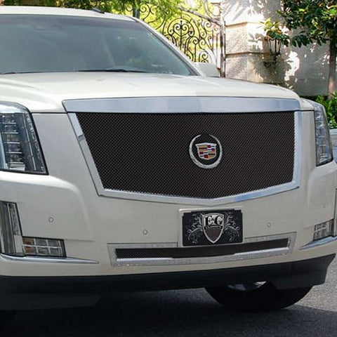 Copy of E&G 2015 CADILLAC ESCALADE CLASSIC SERIES BLACK ICE FINE MESH MAIN GRILLE - LOWER - 1009-B10U-15