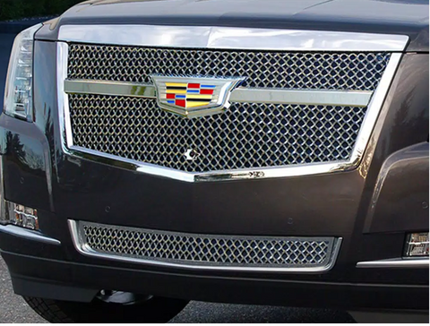 E&G 2015i-2018 CADILLAC ESCALADE CENTER BAR LUXE WEAVE LOWER ADAPTIVE CRUISE - 1009-060L-15AC