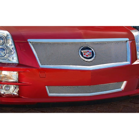 E&G 2008-2011 CADILLAC STS CLASSIC 2PC FINE MESH GRILLE - 1006-0102-08