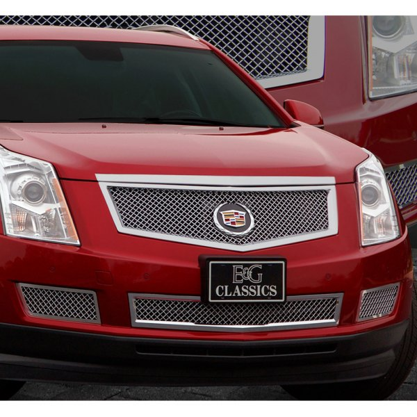 E&G 2010-2012 CADILLAC SRX CLASSIC HEAVY MESH GRILLE LOWER ONLY - 1003-010L-10H