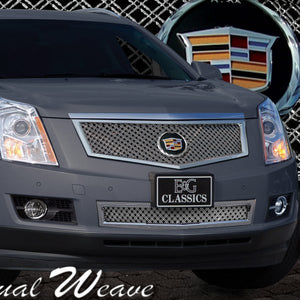 E&G 2010-2012 CADILLAC SRX 2PC CLASSIC DUAL WEAVE MESH GRILLE - 1003-0104-10DR