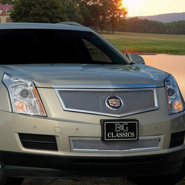 E&G 2013-2016 CADILLAC SRX CLASSIC FINE MESH GRILLE - UPPER ONLY - 1003-010U-13R