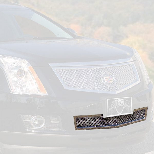 E&G 2013-2016 CADILLAC SRX CLASSIC HEAVY MESH GRILLE LOWER ONLY - 1003-010L-13H